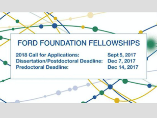 Call for Applicants: Ford Foundation Fellowship Programs